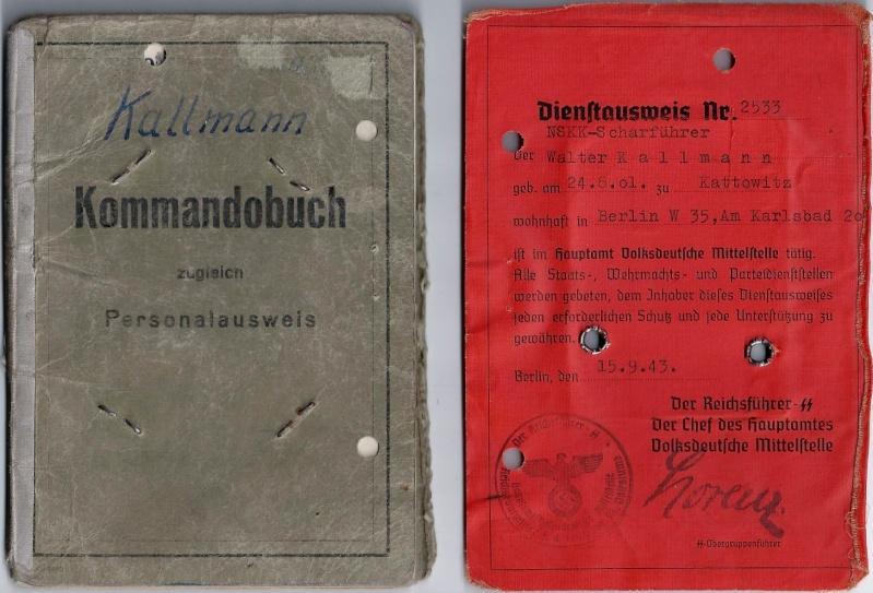Vos livrets militaires allemands WWII (Soldbuch, Wehrpass..) / Heer-LW-KM-SS... 015