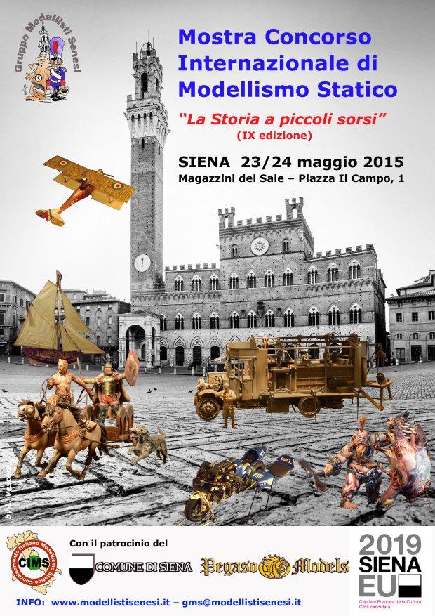 Mostra Concorso Internazionale Modellismo Statico  Siena Siena210