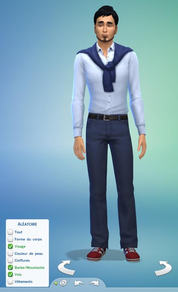 [Fiche] Créer un Sim au hasard dans le CAS 0610
