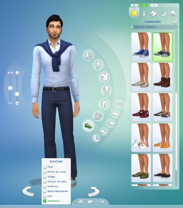 [Fiche] Créer un Sim au hasard dans le CAS 1010