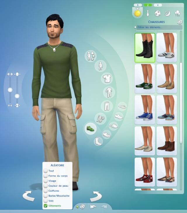 [Fiche] Créer un Sim au hasard dans le CAS 1111