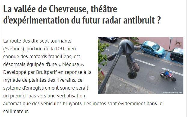 Les radars anti véhicules bruyants arrivent en France - Page 3 Meduse10