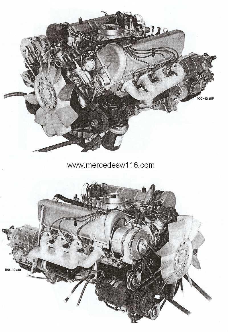 Le moteur M100 de la 450 SEL 6.9 Photo_10