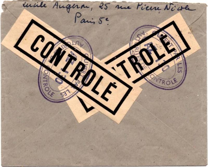 1945 - censure AZ130 contrôle de la presse 1945_c11