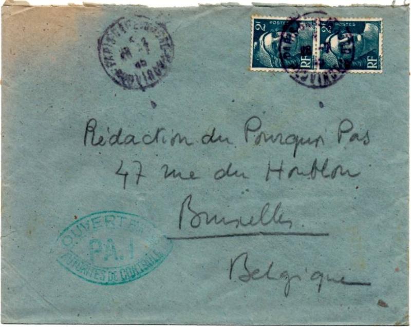 1945 - censure AZ130 contrôle de la presse 1945_c12