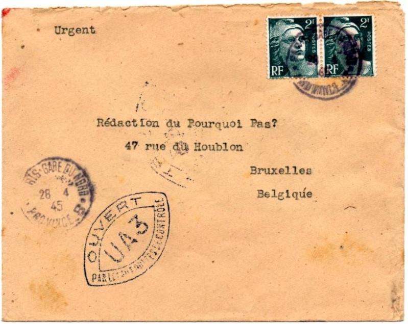 1945 - censure AZ130 contrôle de la presse 1945_c14