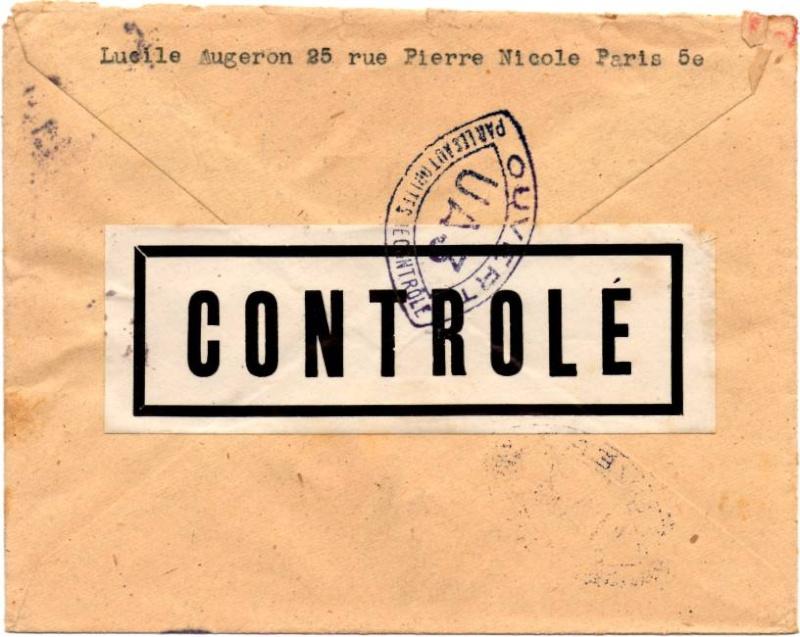 1945 - censure AZ130 contrôle de la presse 1945_c15