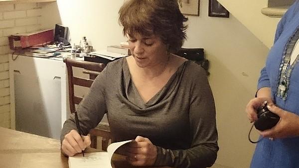 Rencontre du 22 novembre 2014 avec Kristan Higgins - Paris Signat10