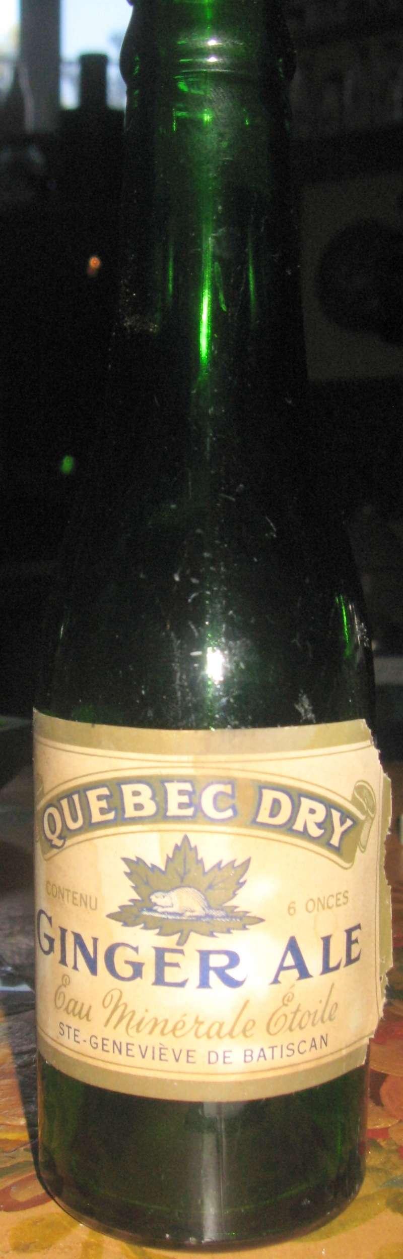 quebec dry  ginger ale  ste-genevieve de batiscan  Etoile10