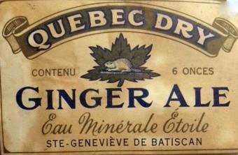 quebec dry  ginger ale  ste-genevieve de batiscan  Etoile11