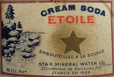 cream soda etoile  10 oz  Etoile12