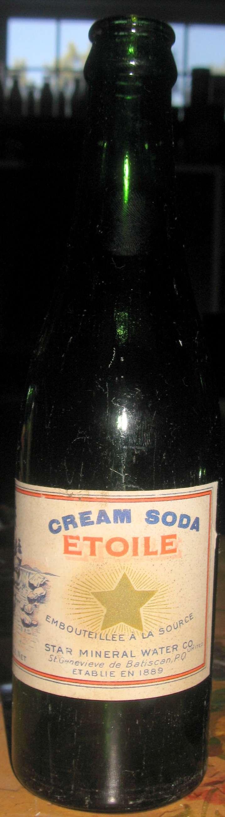 cream soda etoile  10 oz  Etoile13