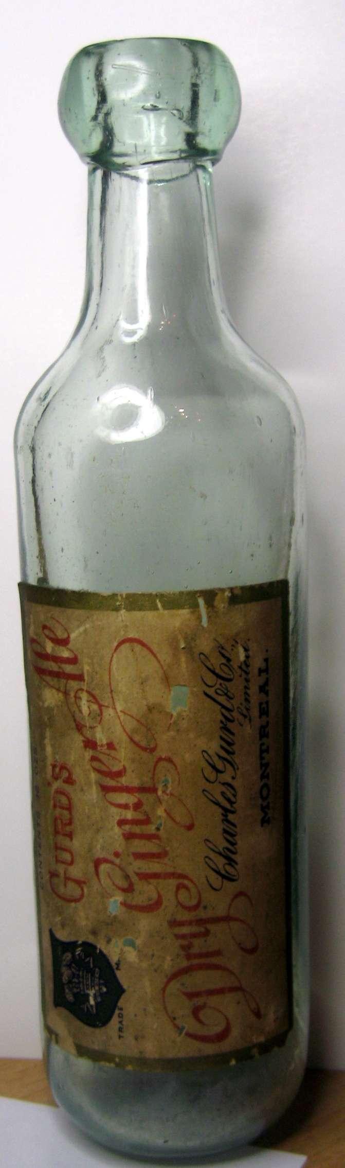wow une belle gurd dry ginger ale  etiquette  Gurds_11