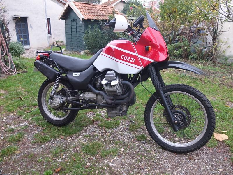 Guzzi 750 NTX revenue de loin Dscf4612
