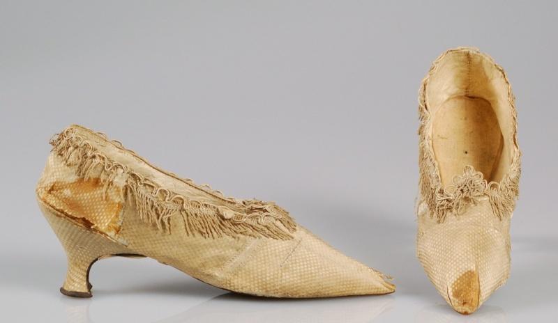 Les souliers et chaussures de Marie-Antoinette  Chauss16