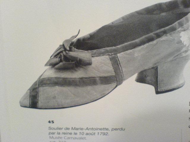 Les souliers et chaussures de Marie-Antoinette  Chauss18
