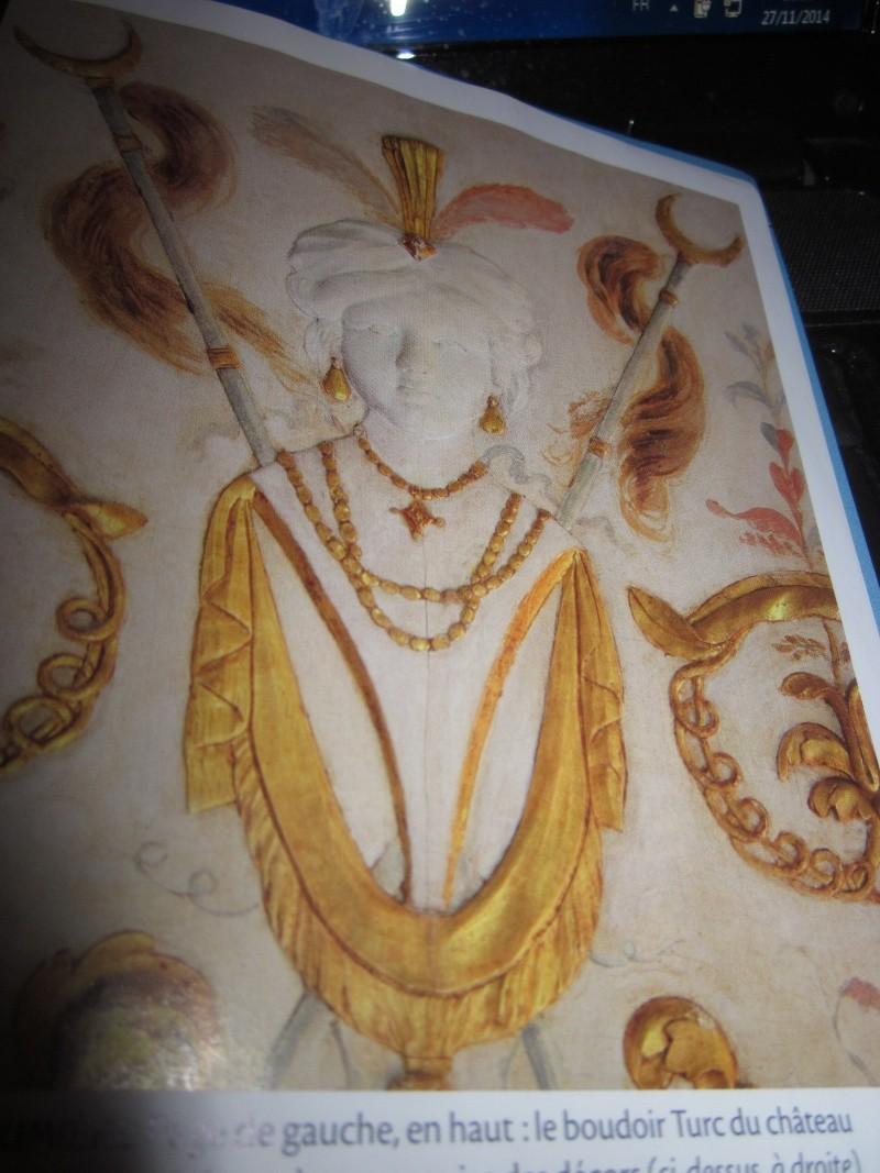 Le boudoir turc de Marie-Antoinette à Fontainebleau Img_0020