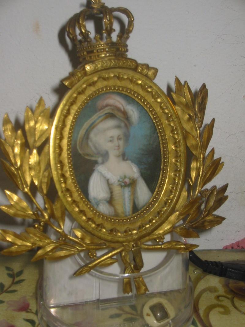 Portraits de Marie-Antoinette et Louis XVI, par Louis-Marie Sicard, dit Sicardi ou Sicardy Photo_10