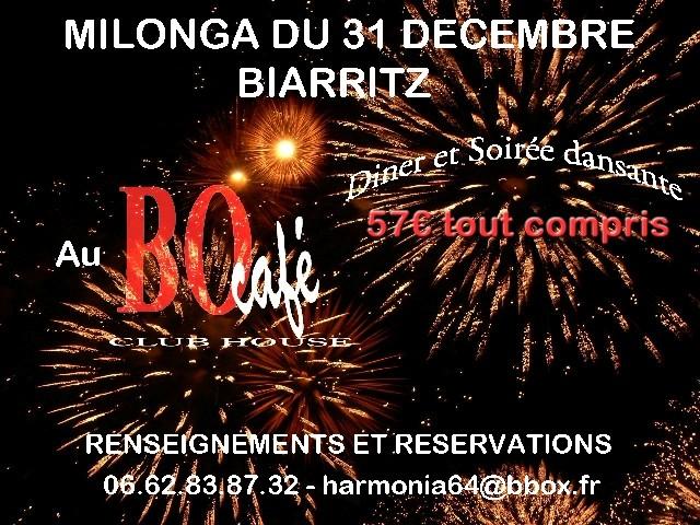 Réveillon du 31 à Biarritz Milong11