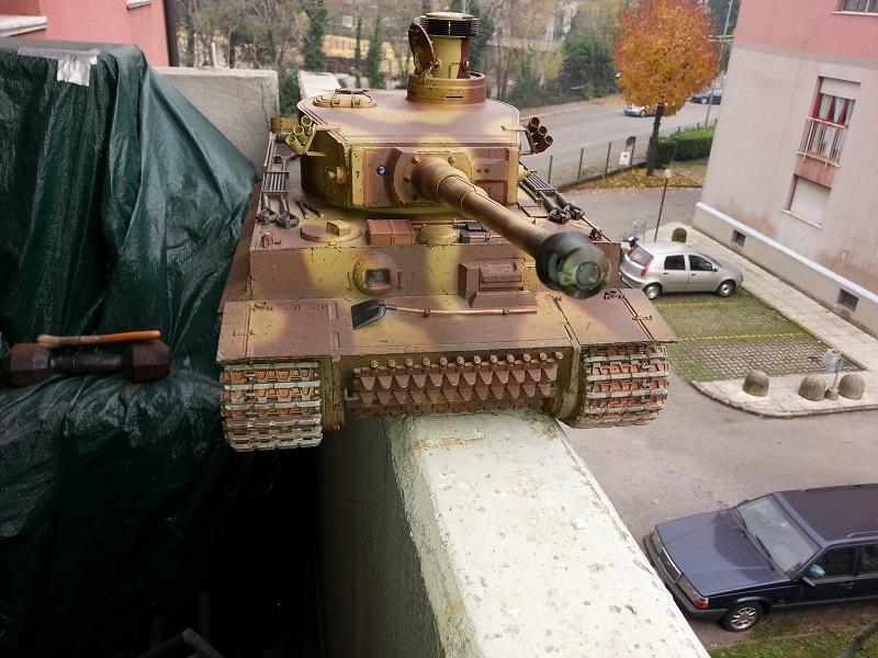 Manutenzione Tiger I Tamiya  20141111