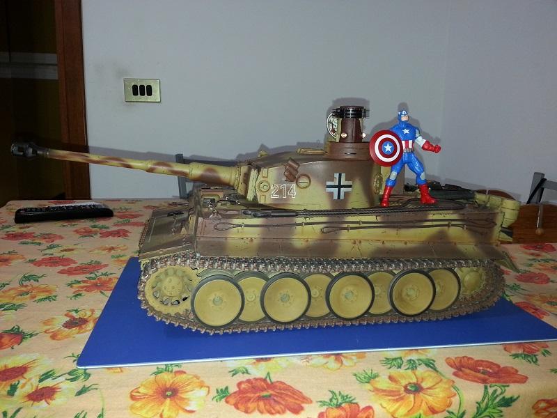 Manutenzione Tiger I Tamiya  20141114