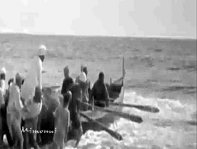 تفنيت 1950 هل خطر علي بالكم أن تعيشوا قصة ألأسلاف صيادو الأسماك بشاطيء تفنيت  في الخمسينيات  Tifnit16