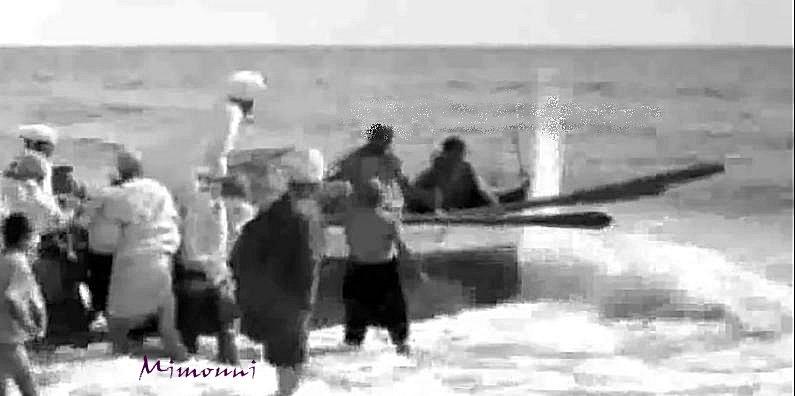 تفنيت 1950 هل خطر علي بالكم أن تعيشوا قصة ألأسلاف صيادو الأسماك بشاطيء تفنيت  في الخمسينيات  Tifnit17