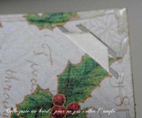 pas à pas d'un mini album de Noël avec Florina  Colle_10
