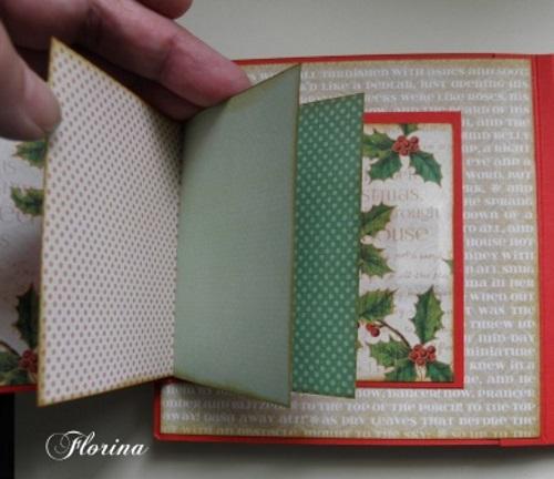 pas à pas d'un mini album de Noël avec Florina  Page_016