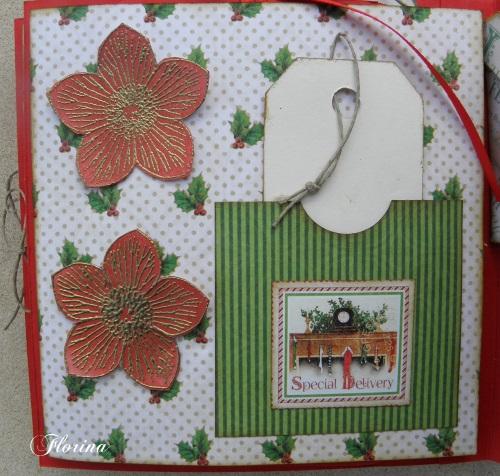 pas à pas d'un mini album de Noël avec Florina  Page_110