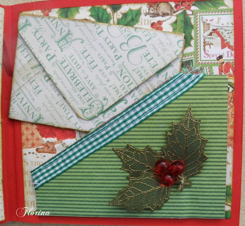 pas à pas d'un mini album de Noël avec Florina  Page_114