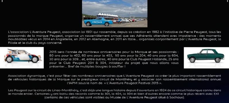 2 et 3 Mai 2015 Festival Peugeot à Montlhery Aventu10