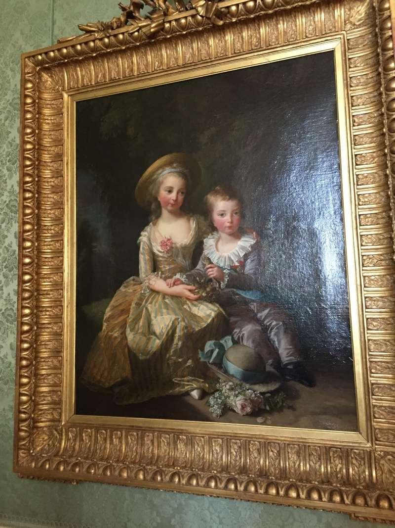 Chambre à coucher du Petit appartement de Marie-Antoinette, au rez-de-chaussée du château de Versailles Img_6013