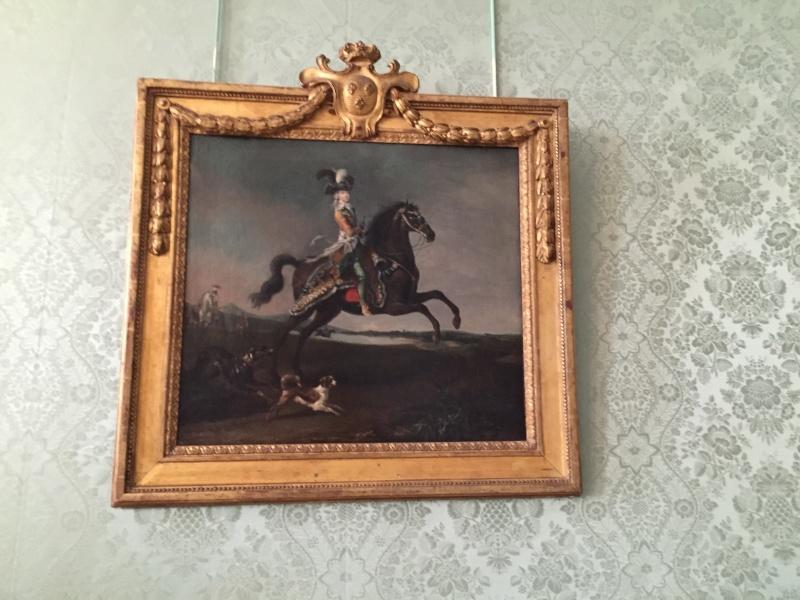 Chambre à coucher du Petit appartement de Marie-Antoinette, au rez-de-chaussée du château de Versailles Img_6014
