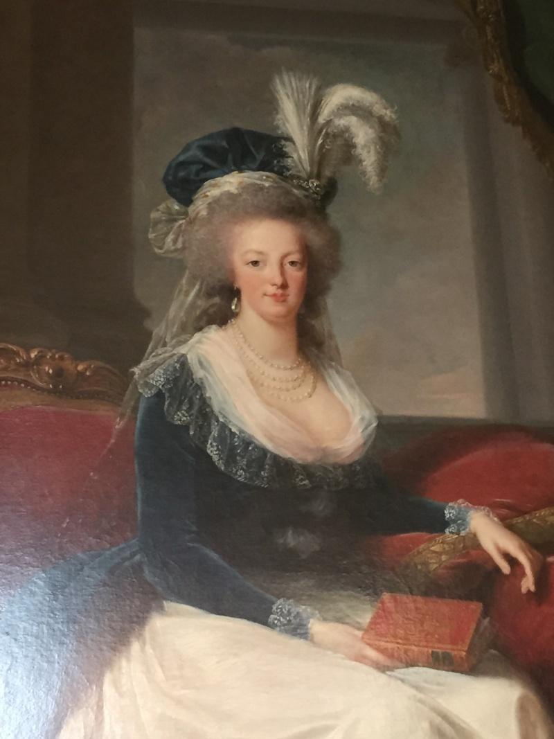 Chambre à coucher du Petit appartement de Marie-Antoinette, au rez-de-chaussée du château de Versailles Img_6016