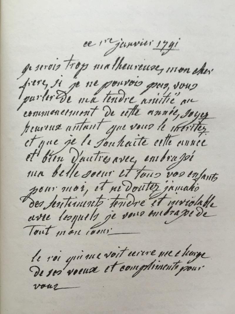 La correspondance de Marie-Antoinette avec son frère Léopold II Img_6714