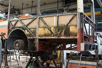 Rénovation d'un Van Hool AG280 de la Société Nationale des Chemins de Fer Vicinaux (5748) 2014_011