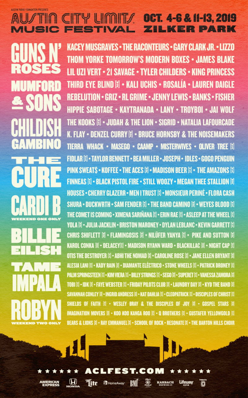 2019.10.04 - Austin City Limits Festival, Austin, TX, USA Acl19-10