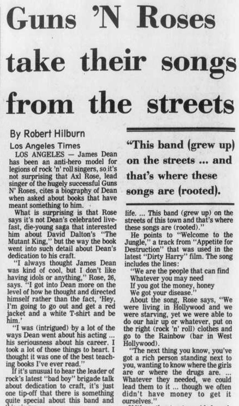 1988.12.22 - Altoona Mirror - Guns N' Roses Take Their Songs From the Street (Axl) Altoon10