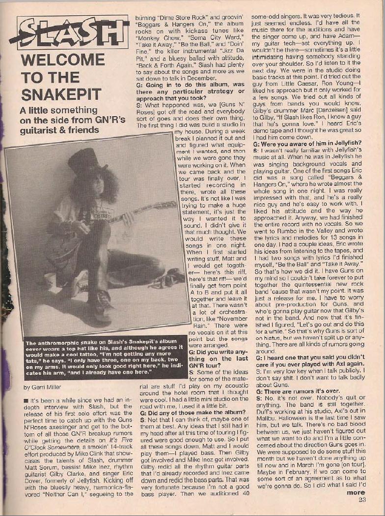 1995.04.DD - Metal Edge - Welcome to the Snakepit (Slash) Bilde110