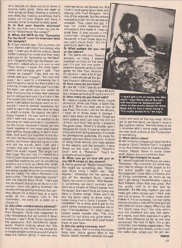 1995.04.DD - Metal Edge - Welcome to the Snakepit (Slash) Bilde410