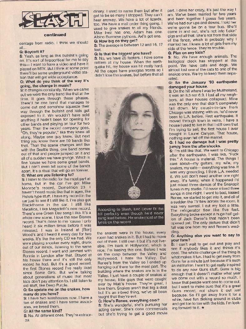 1995.04.DD - Metal Edge - Welcome to the Snakepit (Slash) Bilde510