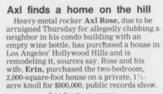 1990.11.26 - Cedar Rapids Gazette - Axl Finds a Home on the Hill Cedar_10