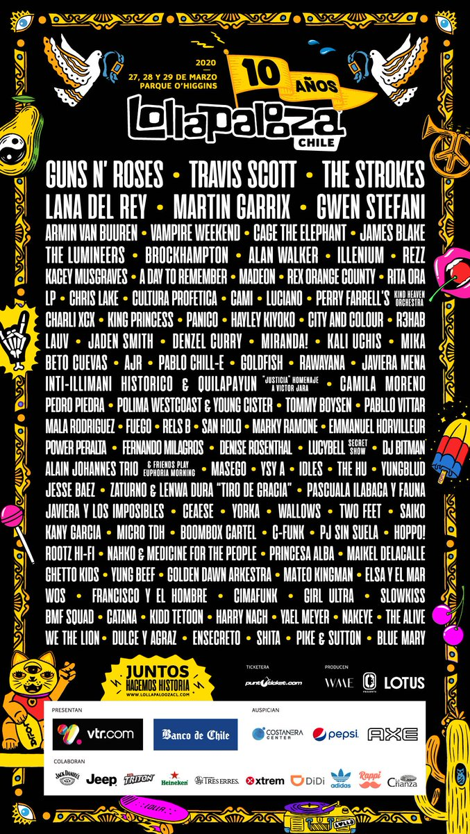2020.03.27 - Lollapalooza, Parque O'Higgins, Santiago, Chile Egh2ng11