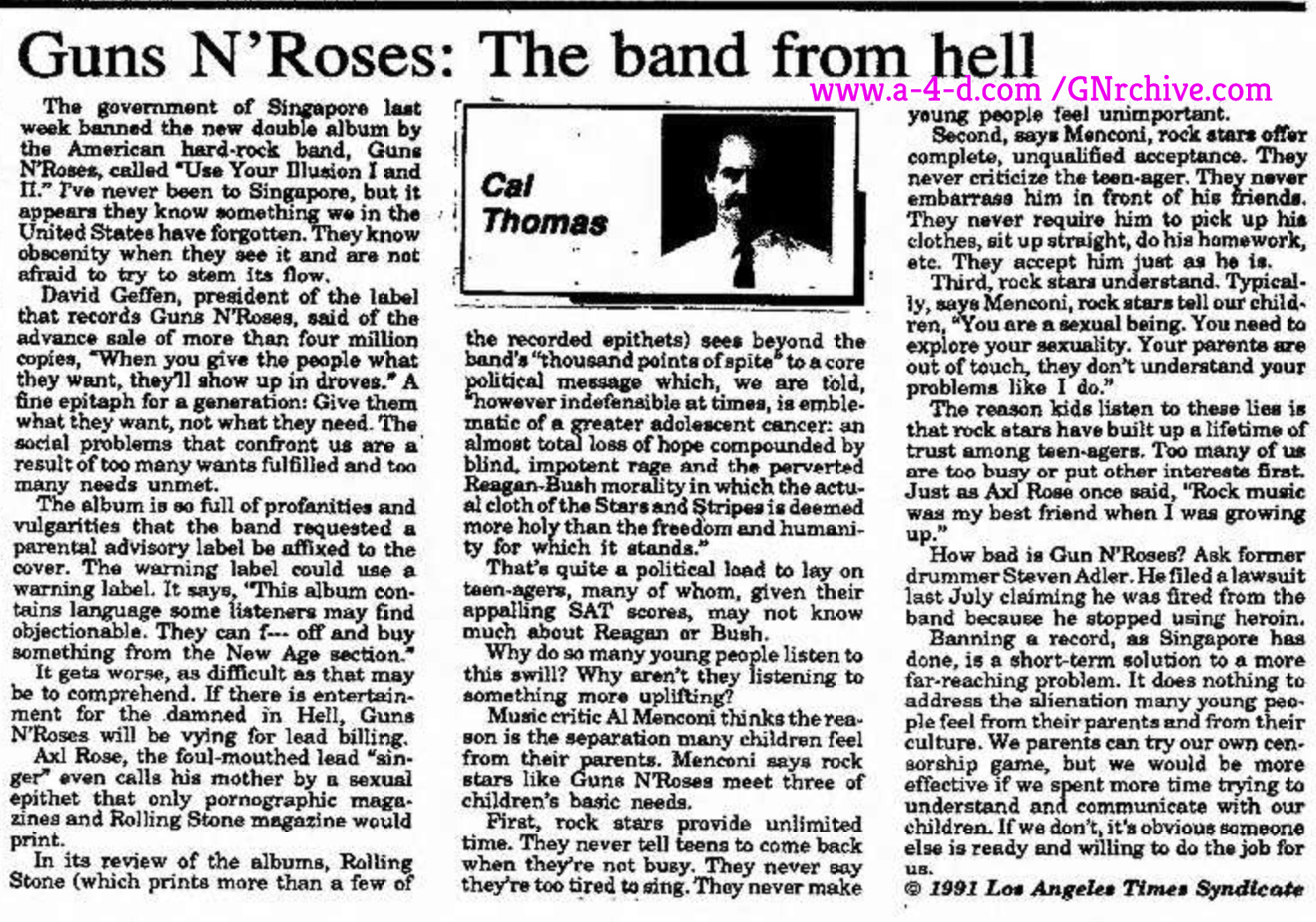 Guns N' Roses: The Band From Hell Gettys11