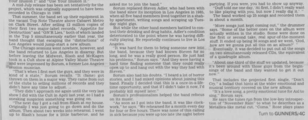 1991.05.19 - Chicago Tribune - Guns N' Roses Reborn (Matt) Janesv10