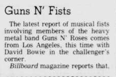 1989.10.26 - Panama City News Herald - Guns N' Fists Panama10