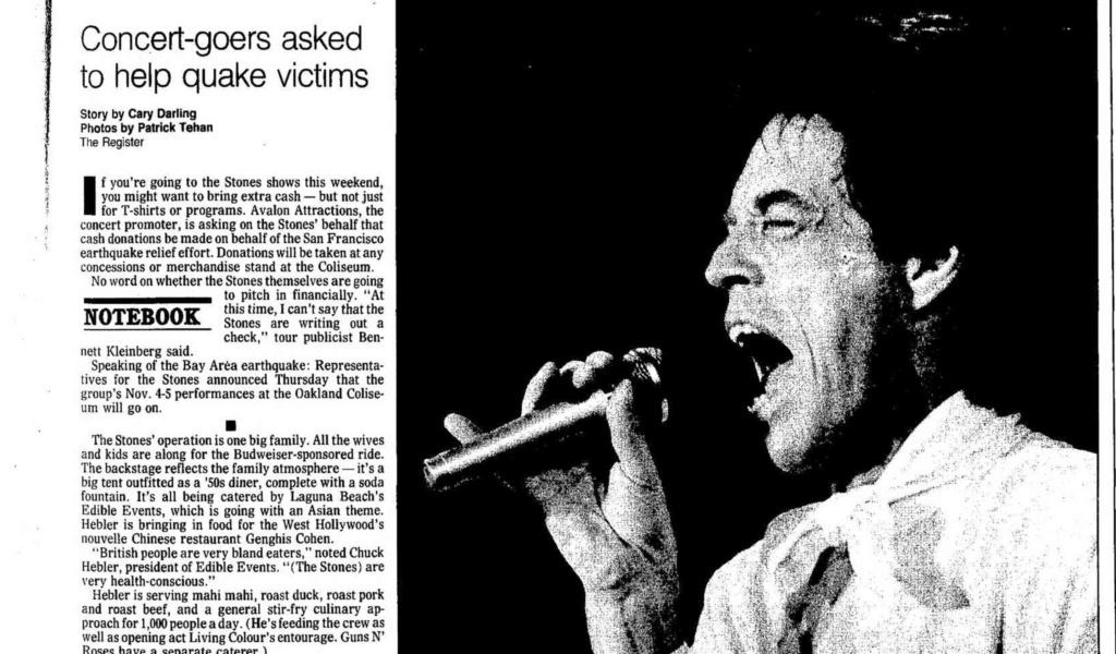 1989.10.18 - Los Angeles Coliseum, Los Angeles, USA Santa_21
