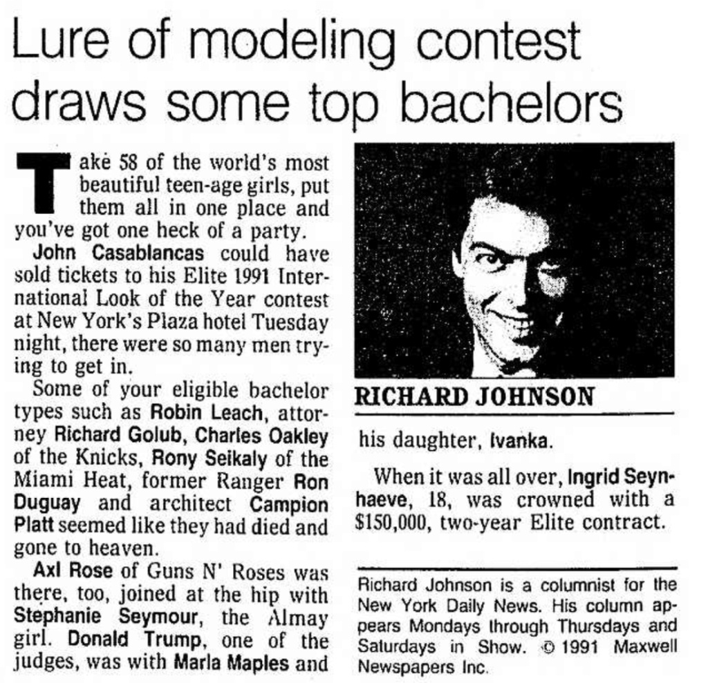 1991.09.05 - Santa Ana County Register - Lure of Modeling Contest Draws Some Top Bachelors (Axl mention) Santa_25