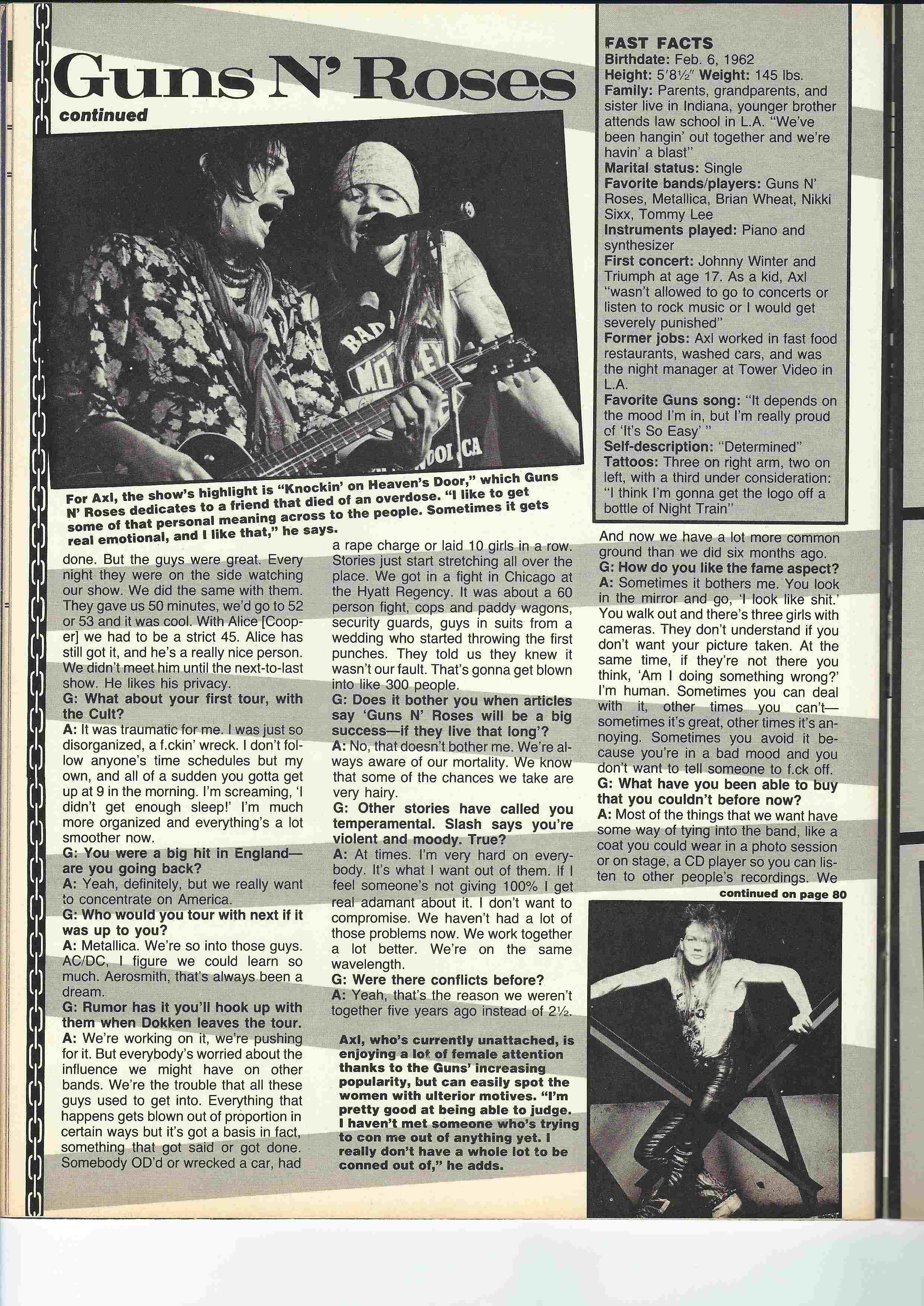 1988.06.DD - Metal Edge - Smokin' Guns N' Roses Interview (Axl) Scan0026